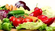 Healthy Vegetables Consept