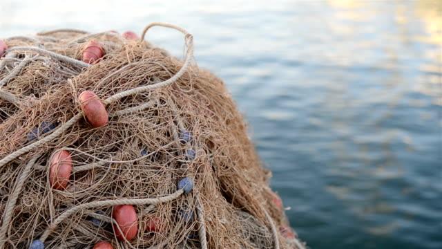 Heap of fishing Net