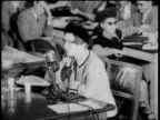 HUAC hearing Ayn Rand talking about what it was like to live in USSR / Washington DC United States