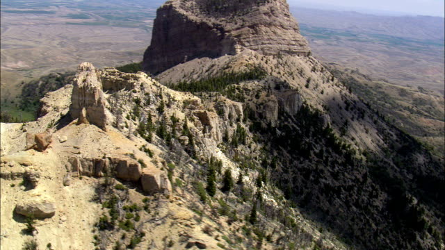 Heart Mountain  - Aerial View - Wyoming, Park County, United States