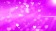 Cuore delle particelle Raggiante (loop)