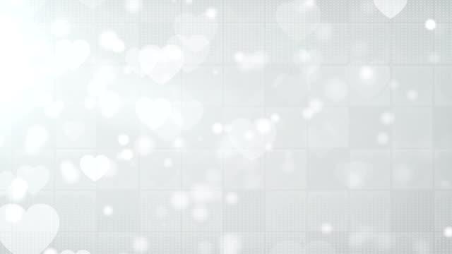 Cuore sfondo bianco (loop)