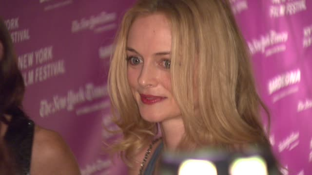 Heather Graham at the New York Film Festival 'The Darjeeling Limited' Premiere Opening Night at Film Society of Lincoln Center in New York New York...