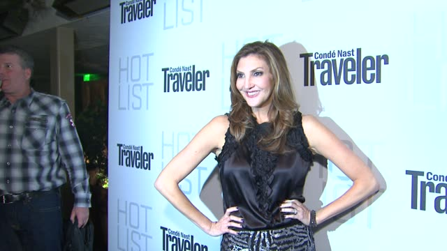 Heather McDonald at the Conde Nast Traveler Hot List Party at West Hollywood CA