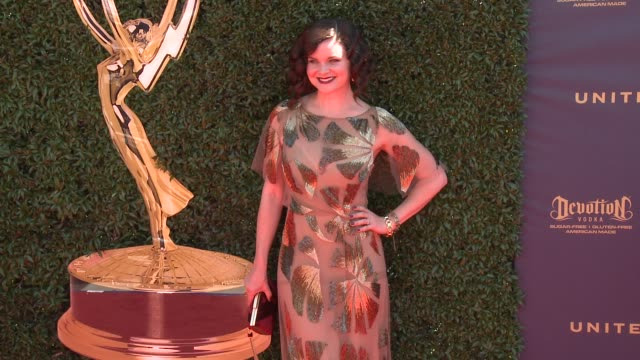 Heather Tom at the 44th Annual Daytime Emmy Awards at Pasadena Civic Auditorium on April 30 2017 in Pasadena California