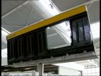 Preview of Terminal 5 ENGLAND London Heathrow Airport Terminal 5 INT General interior views of partlycompleted Terminal 5 building with some...