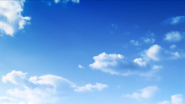 Heaven cloudscape (part 2 of two), time lapse, HD
