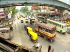 Heavy fumes on the streets of Kolkata