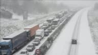 A heavy late winter snowstorm battered northwestern Europe on Tuesday causing widespread travel chaos and traffic jams CLEAN Late winter snowstorm...