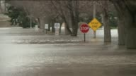 Heavy Rains Cause Massive Flooding In Illinois on April 27 2013 in Forest View Illinois