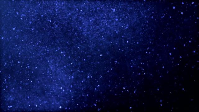 Rain / Snow Storm / Blizzard (dunkelblau) mit Luma/Alpha Matte, Vordergrund - Schleife zu trennen