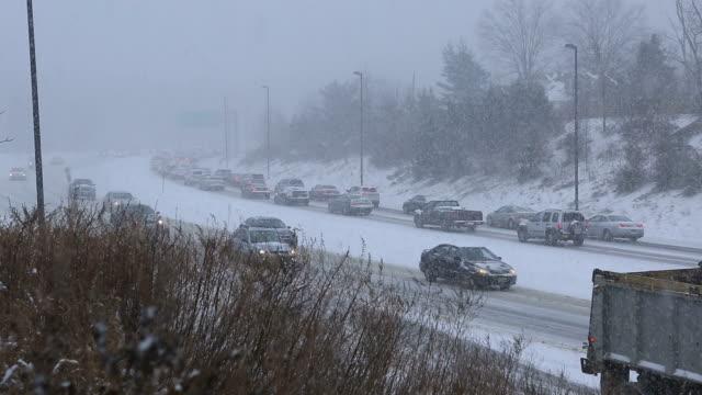 Heavy Snow traffic