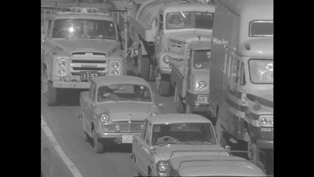 1966 Heavy Traffic In Tokyo