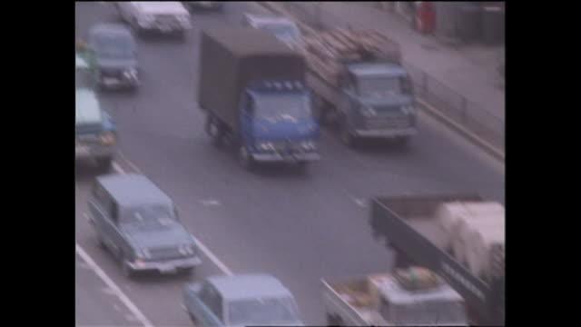 1969 Heavy Traffic In Tokyo