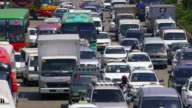 Heavy Traffic Manila Philippines
