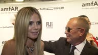 INTERVIEW Heidi Klum thanks amFAR for their great work at amfAR New York Gala To Kick Off Fall 2013 Fashion Week at Cipriani at Cipriani Wall Street...