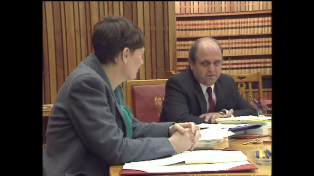 Helen Clark Deputy Prime Minister attends Cabinet meeting with Mike Moore soon after he became Prime Minister in 1990