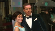 Helen McCrory Damian Lewis at EE British Academy Film Awards 2013 Red Carpet Arrivals at The Royal Opera House on February 10 2013 in London England