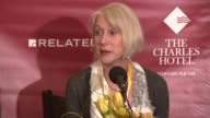 INTERVIEW Helen Mirren on her Oscar pick on what she was unprepared for at the roast on her twerking The Hasty Pudding Theatricals Honor Helen Mirren...