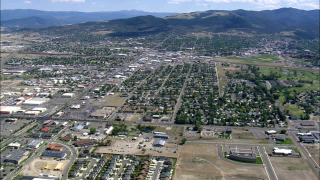 Helena  - Aerial View - Montana, Lewis and Clark County, United States