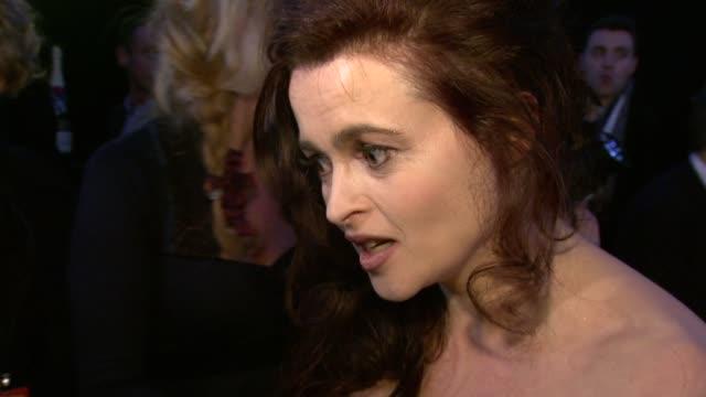 Helena Bonham Carter at the Moet British Independent Film Awards at London England