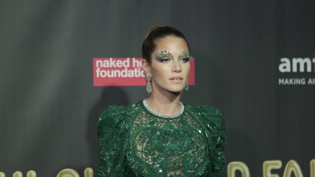 Helena Borden at Natalia Vodianova's Naked Heart Foundation to partner with amfAR in New York for Fabulous Fund Fair at Skylight Clarkson Sq on...