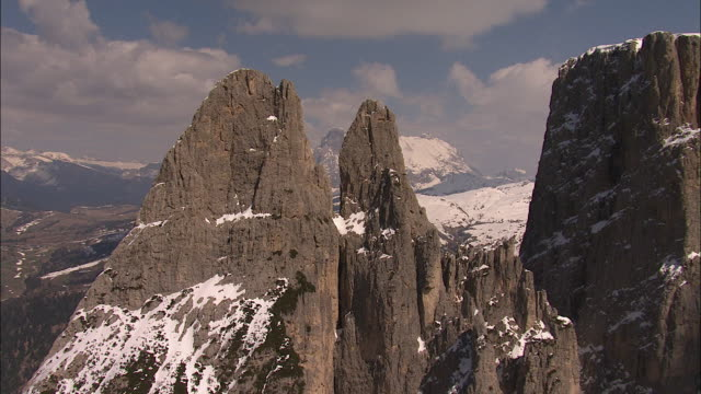 Helicopter Flights over South Tyrol, Italy