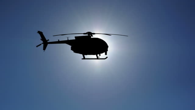 Helicopter Slowmotion HD
