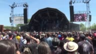 Hellfest the biggest festival of heavy metal music in France opens to a sold out crowd