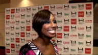 celebrity interviews Alexandra Burke speaking to press Alexandra Burke interview SOT On what she's wearing special outfit for a special day on the...
