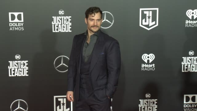 Henry Cavill at the 'Justice League' World Premiere at Dolby Theatre on November 13 2017 in Hollywood California