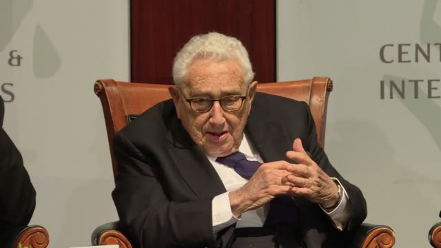 Henry Kissinger discusses how US foreign policy and national security is different from many other nations because there are few threats from our...