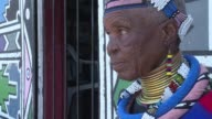 Her forebears used dung and soil to colour their homes but Esther Mahlangu was one of the first to start painting traditional Ndebele designs in...