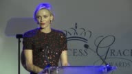 Her Serene Highness Princess Charlene on Monaco at the 2015 Princess Grace Awards Gala on September 05 2015 in Monaco Monaco