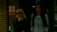 Herbie Hide appeals against his conviction after 'fake sheikh' drug sting LIB PHOTOGRAPHY** Tulisa Contostavlos along outside court during her trial...