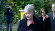 RAF Hercules inquest blames Ministry of Defence family statements Sarah Chapman listening with others Pauline Stead statement SOT Our thoughts will...