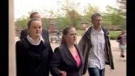 Heroin addict whose baby died of methadone overdose jailed ENGLAND Cleveland Middlesbrough Teesside Crown Court EXT Gemma Fennelly along to court...