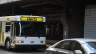 Hertz Global Holdings Inc shuttle buses pick up and drop off travelers at O'Hare International Airport in Chicago Illinois US August 6 2012 Shots A...