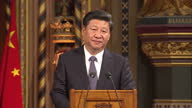 He's the first Chinese leader to make a state visit to the UK in a decade Today China's President Xi Jinping mingled with the Queen and political...