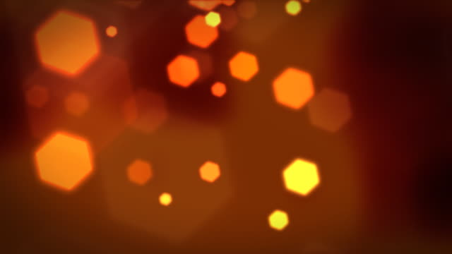 hexagon lights background loopable