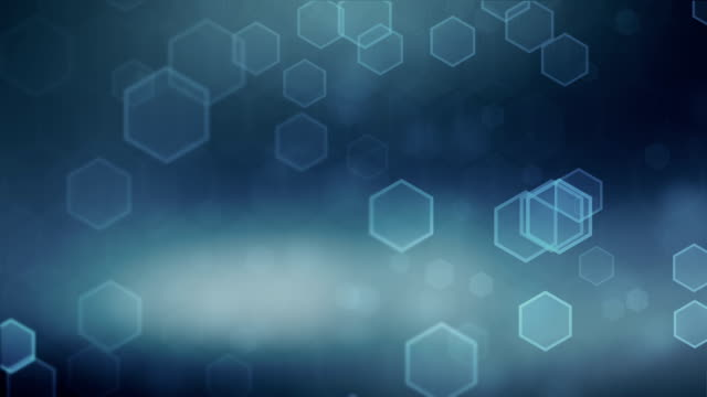 Hexagonal Blue Background (Loopable)