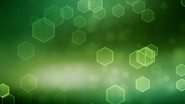 Hexagonal Green Background