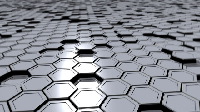 Hexagons (loopable)