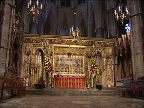 High Alter inside Westminster Abbey