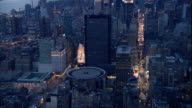 High Altitude XWS Midtown w/ Empire State Building Chrysler Building Hudson River New Jersey BG