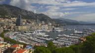 High angle,Yacht Harbour,Port Hercule,La Condamine
