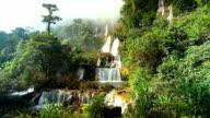 High Ciiff Waterfall Theelorsu in deep forest