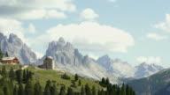 High Mountain Landscape Time Lapse