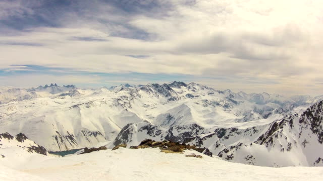 High Mountain Time Lapse