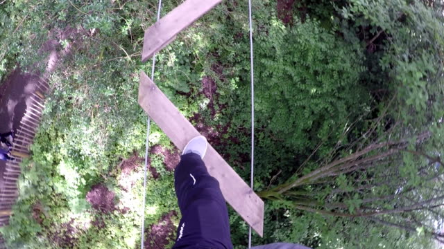 High Ropes / Assault course Zig zag ladder
